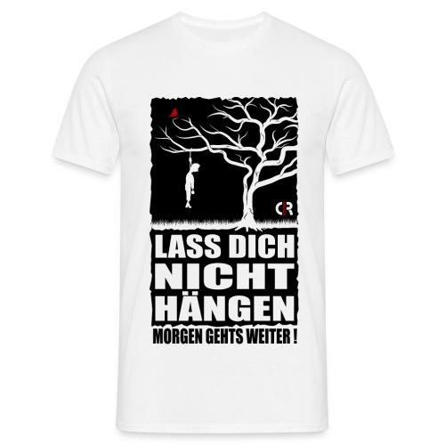 Abhängen - weis - Männer T-Shirt