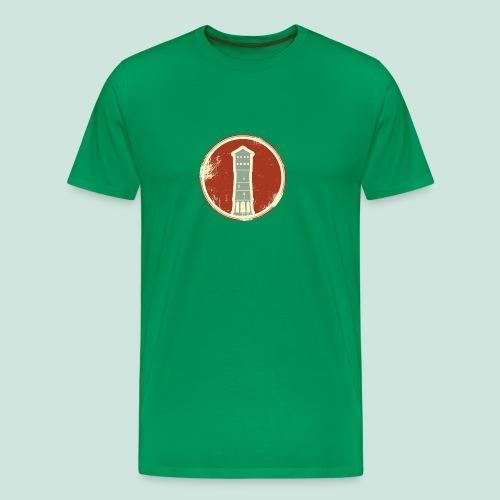 Gütersloh Wasserturm Retrolook - Männer Premium T-Shirt