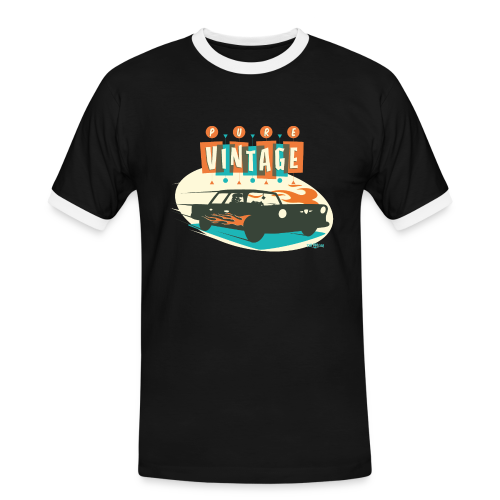 Pure Vintage Car - T-shirt contrasté Homme