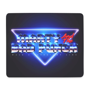 Marty And The Bad Punch - MausPad - Retro Look - Mouse Pad (horizontal)