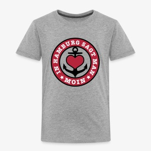 In Hamburg sagt man MOIN Anker Maritim T-Shirt Kinder - Kinder Premium T-Shirt