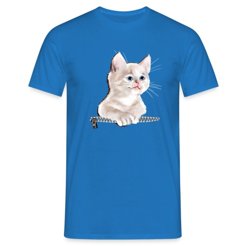 Sweet Pocket Kitten - Men's T-Shirt