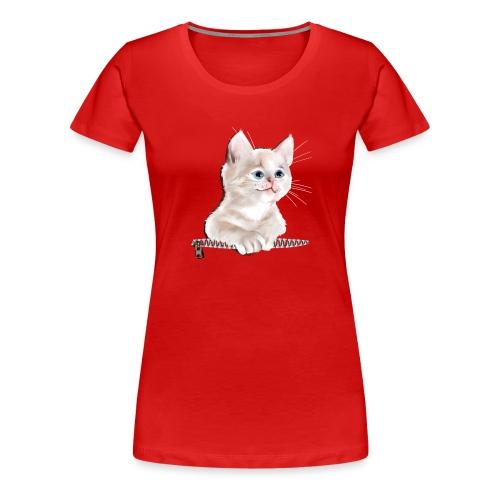 Sweet Pocket Kitten - Women's Premium T-Shirt