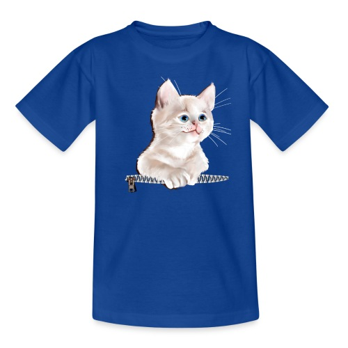 Sweet Pocket Kitten - Kids' T-Shirt