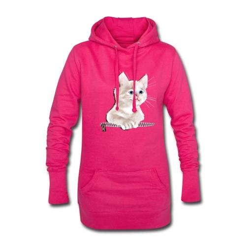 Sweet Pocket Kitten - Hoodie Dress
