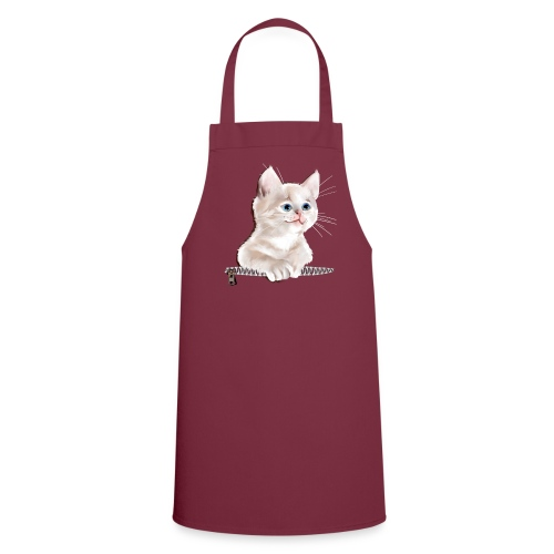 Sweet Pocket Kitten - Cooking Apron