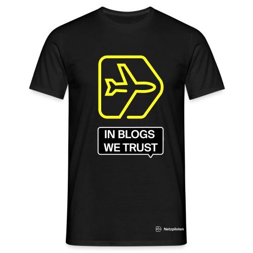 Männer - Shirt Netzpiloten Blogging Pride - Männer T-Shirt