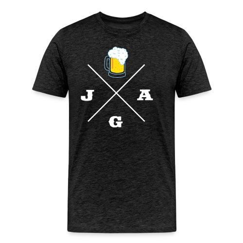 JGA Bier - JGA-Shirt - Männer Premium T-Shirt