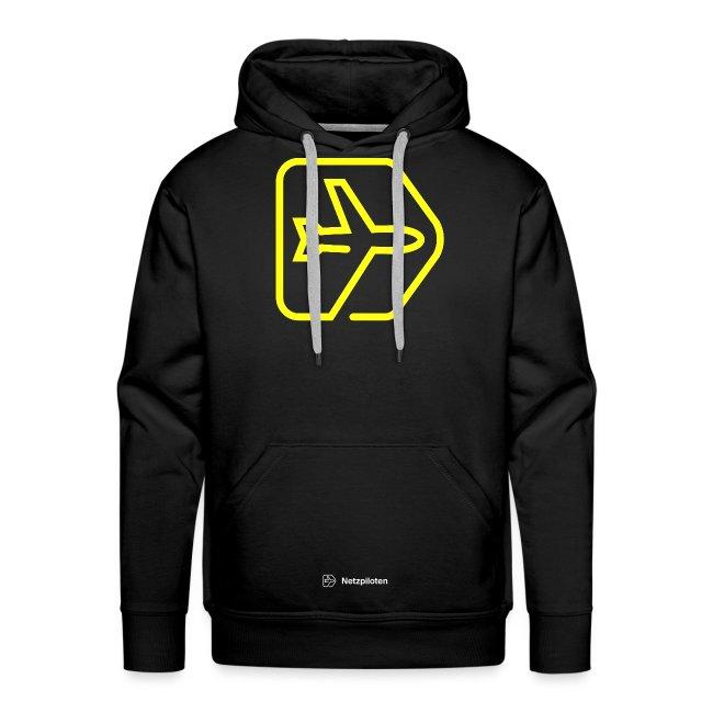 Männer - Hoodie Netzpiloten Classic Neon Line