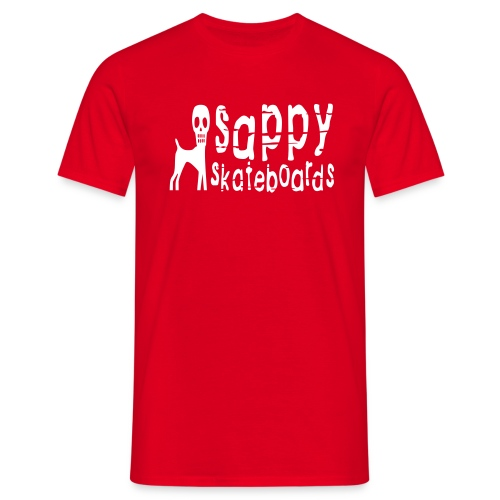 sappy original tee red - T-shirt herr