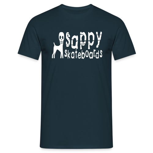 sappy original tee navy blue - T-shirt herr