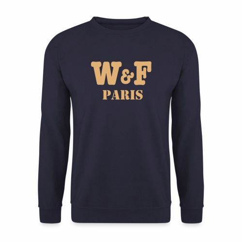 World&Fly - Pull PARIS - Sweat-shirt Homme