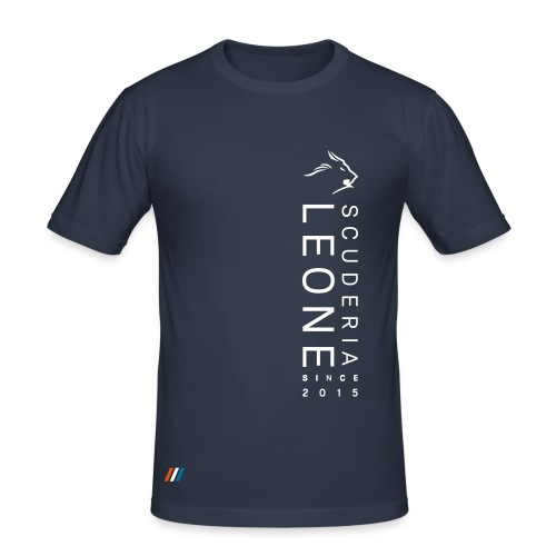 Scuderia Leone Since 2015 Slimfit - Men's Slim Fit T-Shirt