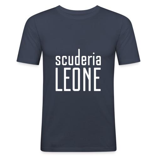 Scuderia Leone WHITE_navy Slimfit - Men's Slim Fit T-Shirt