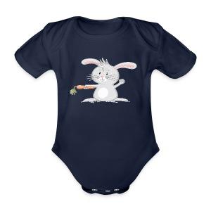 Möhrchen? - Baby Bio-Kurzarm-Body - Baby Bio-Kurzarm-Body