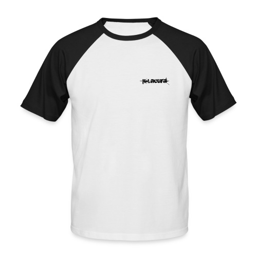 K-Lacura Pocket Logo Twin Color T-Shirt - Men's Baseball T-Shirt
