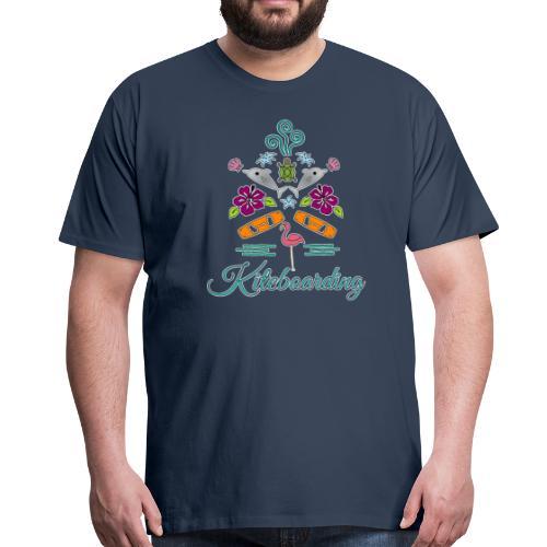 Kiteboarding Tshirt Burschn - Männer Premium T-Shirt