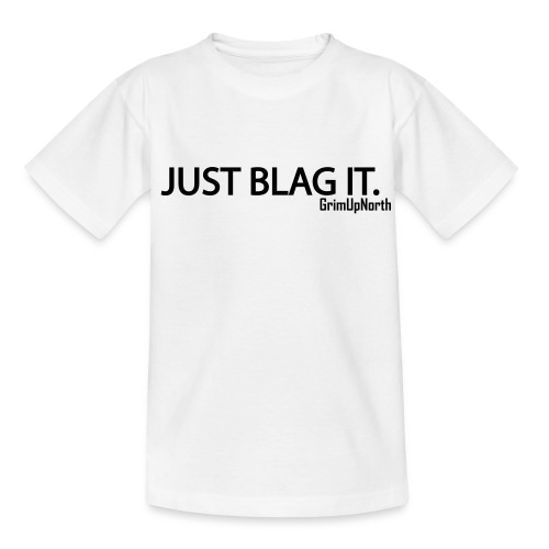 Just Blag It - Grim - Teenage T-shirt