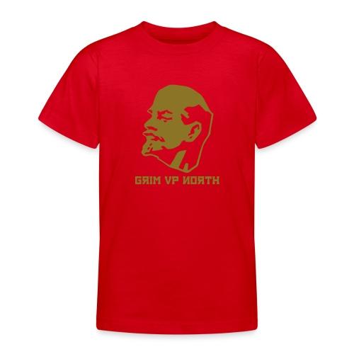 Lenin (Gold Metallic) - Teenage T-shirt