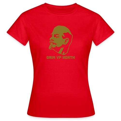 Lenin (Gold Metallic) - Women's T-Shirt