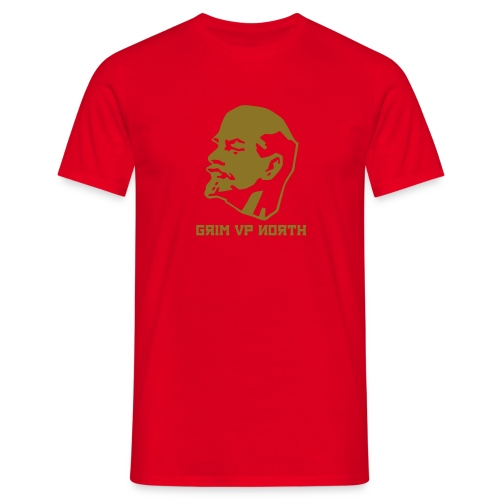 Lenin (Gold Metallic) - Men's T-Shirt