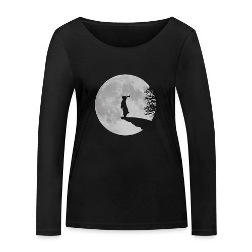 Wolfinchen - Frauen Bio-Langarmshirt von Stanley & Stella