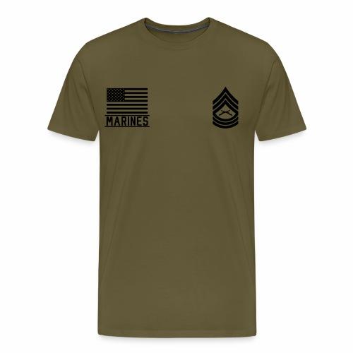 Master Sergeant MSgt US Marines, Mision Militar ™ - Men's Premium T-Shirt