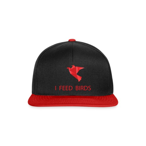 I feed birds - Snapback Cap