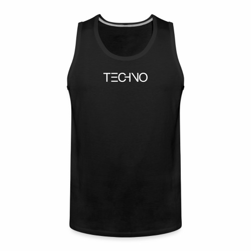 DIGITAL TECHNO - Tanktop - Männer Premium Tank Top