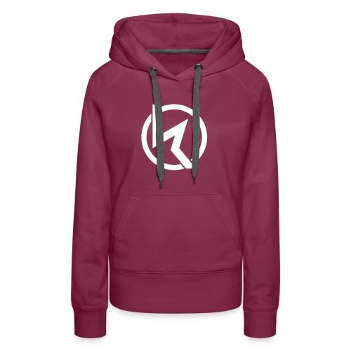 KLP White Logo Girls Hoodie  (verschied. Farben) - Frauen Premium Hoodie