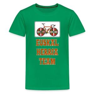 Cyclisme Basque - T-shirt Premium Ado