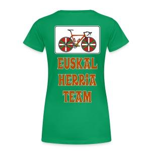 Cyclisme Basque - T-shirt Premium Femme