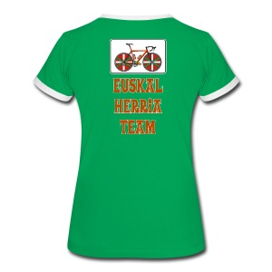 Cyclisme Basque - T-shirt contrasté Femme