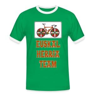 Cyclisme Basque - T-shirt contrasté Homme