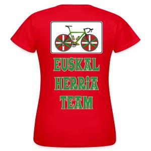 Cyclisme Basque - T-shirt Femme