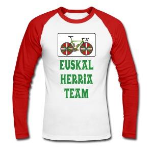 Cyclisme Basque - T-shirt baseball manches longues Homme