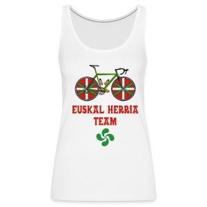 Cyclisme Basque - Débardeur Premium Femme