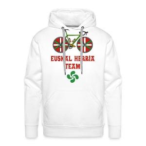Cyclisme Basque - Sweat-shirt à capuche Premium pour hommes