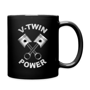 V-Twin engine power - Tasse en couleur