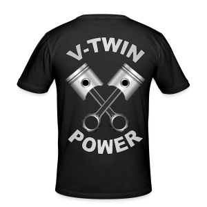V-Twin engine power - Tee shirt près du corps Homme