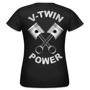 V-Twin engine power - T-shirt Femme