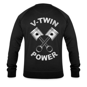 V-Twin engine power - Sweat-shirt bio Stanley & Stella Homme