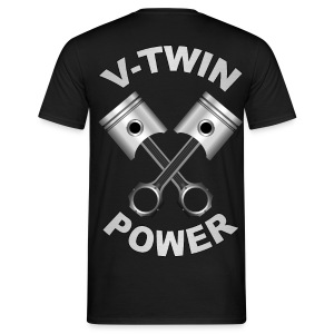 V-Twin engine power - T-shirt Homme