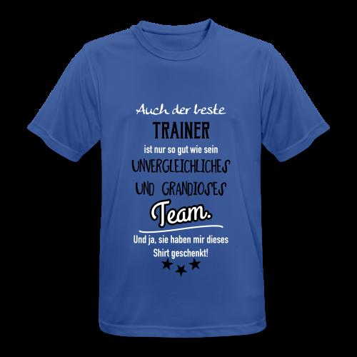 Geschenk Trainer - Männer T-Shirt atmungsaktiv