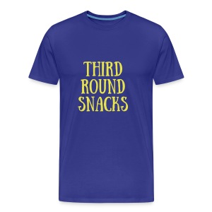 third round snacks - Men's Premium T-Shirt