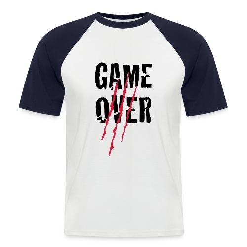Camiseta béisbol manga corta hombre