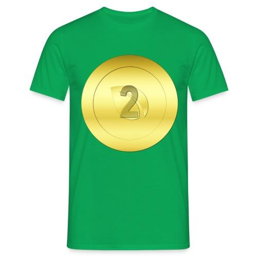2 Gold Peercoin - Männer T-Shirt