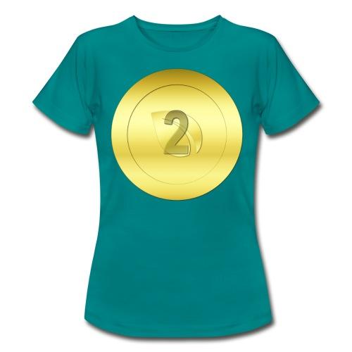 2 Gold Peercoin - Frauen T-Shirt