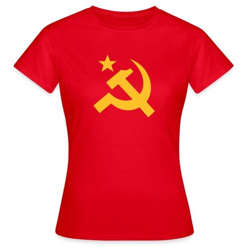 Bold Hammer Sickle Women's Tee Shirt - Women's T-Shirt