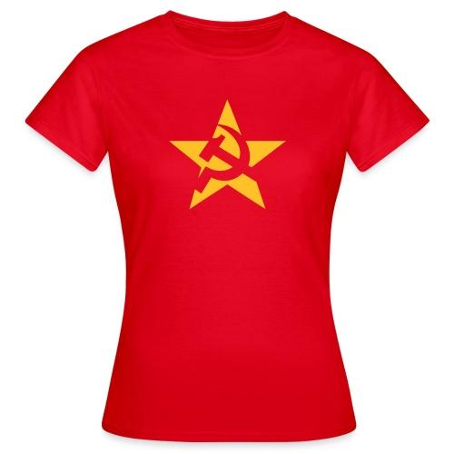 Soviet Star Women's Tee Shirt - Women's T-Shirt